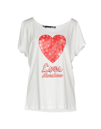 LOVE MOSCHINO Women's T-shirt White 12 US