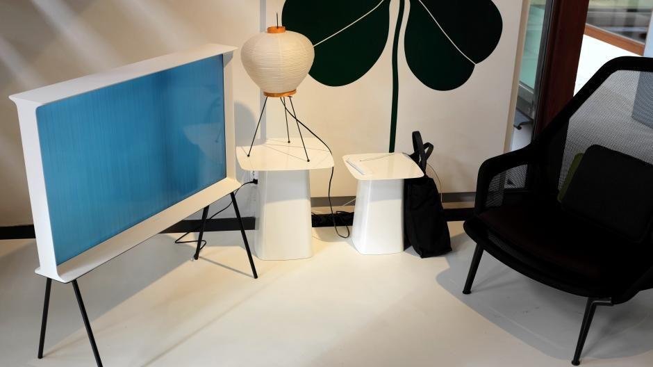 Design tv  Design-tv Samsung Serif: tv als designmeubel | Bright | Nieuws ...