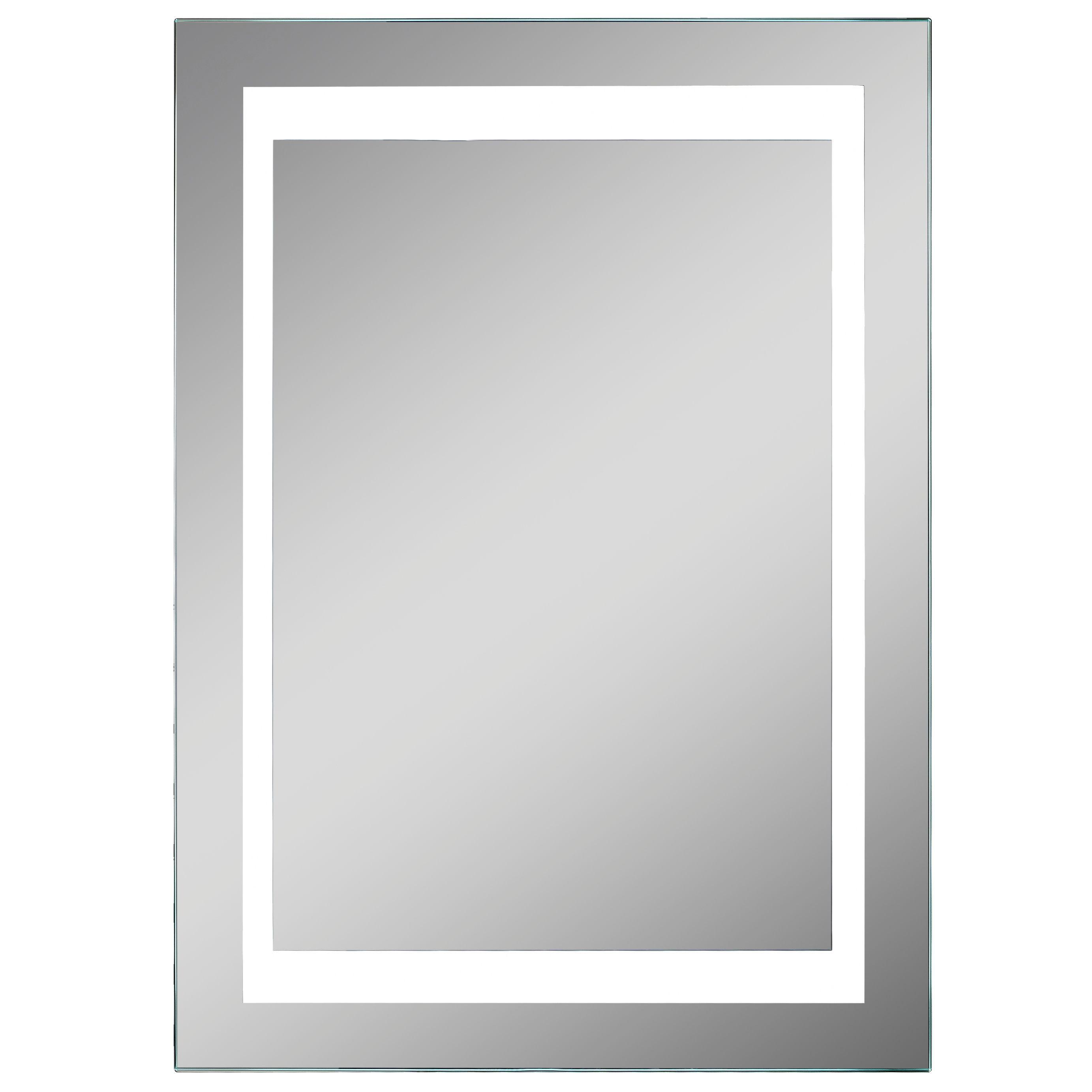 Lumino Coro Illuminated Bathroom Rectangular Mirror with Shaver ...