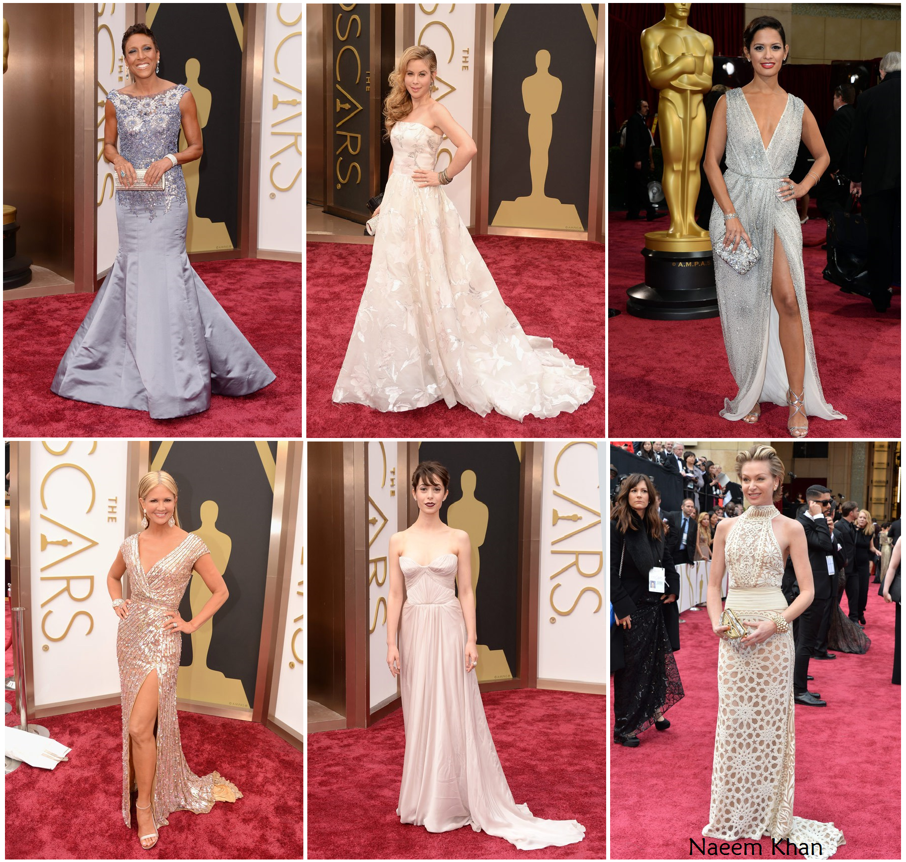 Portia De Rossi Wedding Gown: Robin Roberts, Tara Lipinski, Rocsi Diaz, Nancy O'Dell