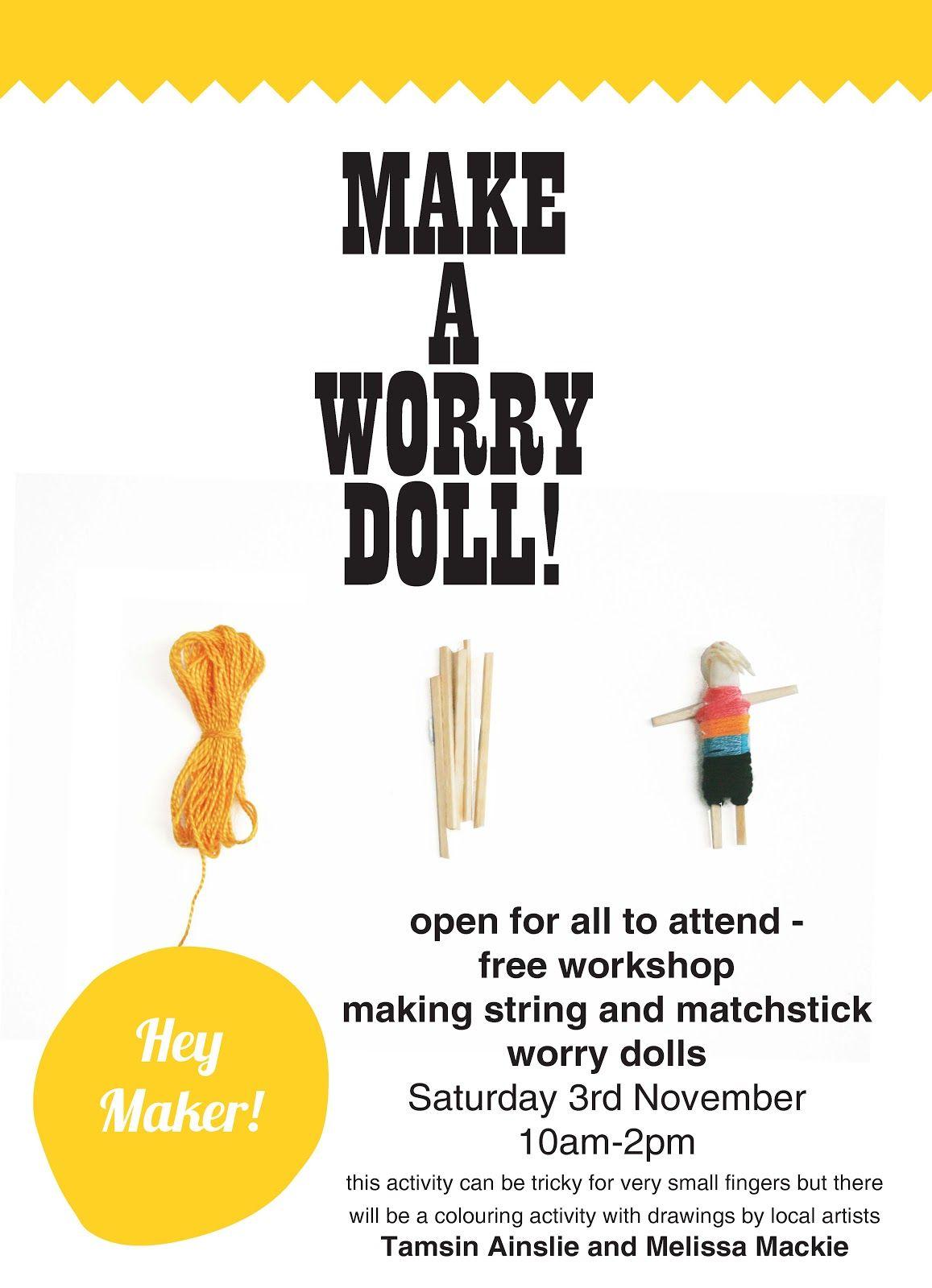 Worry Dolls By Heymakercreativespot