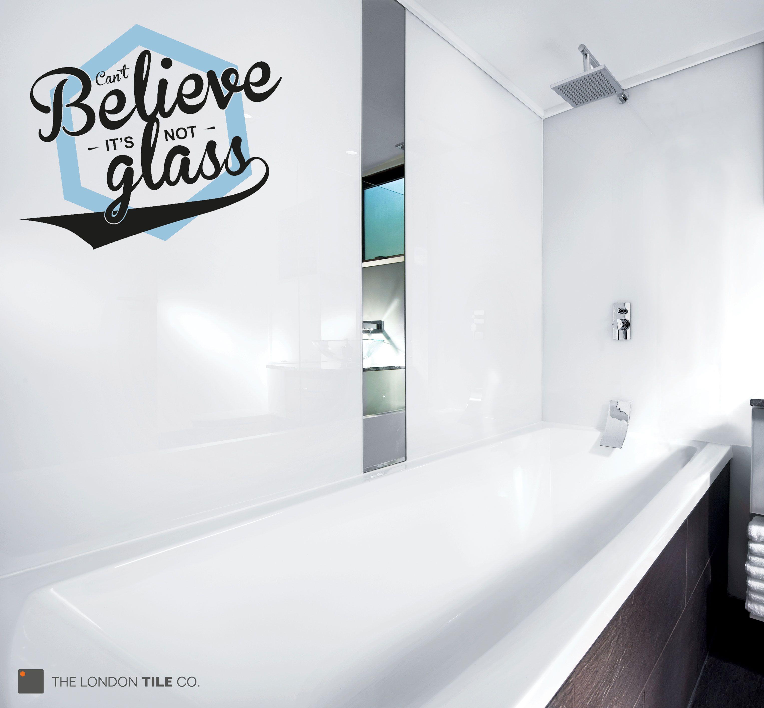 Lustrolite Arctic White Acrylic Bathroom Wall Panels You Wont - Acrylic bathroom wall panels for bathroom decor ideas