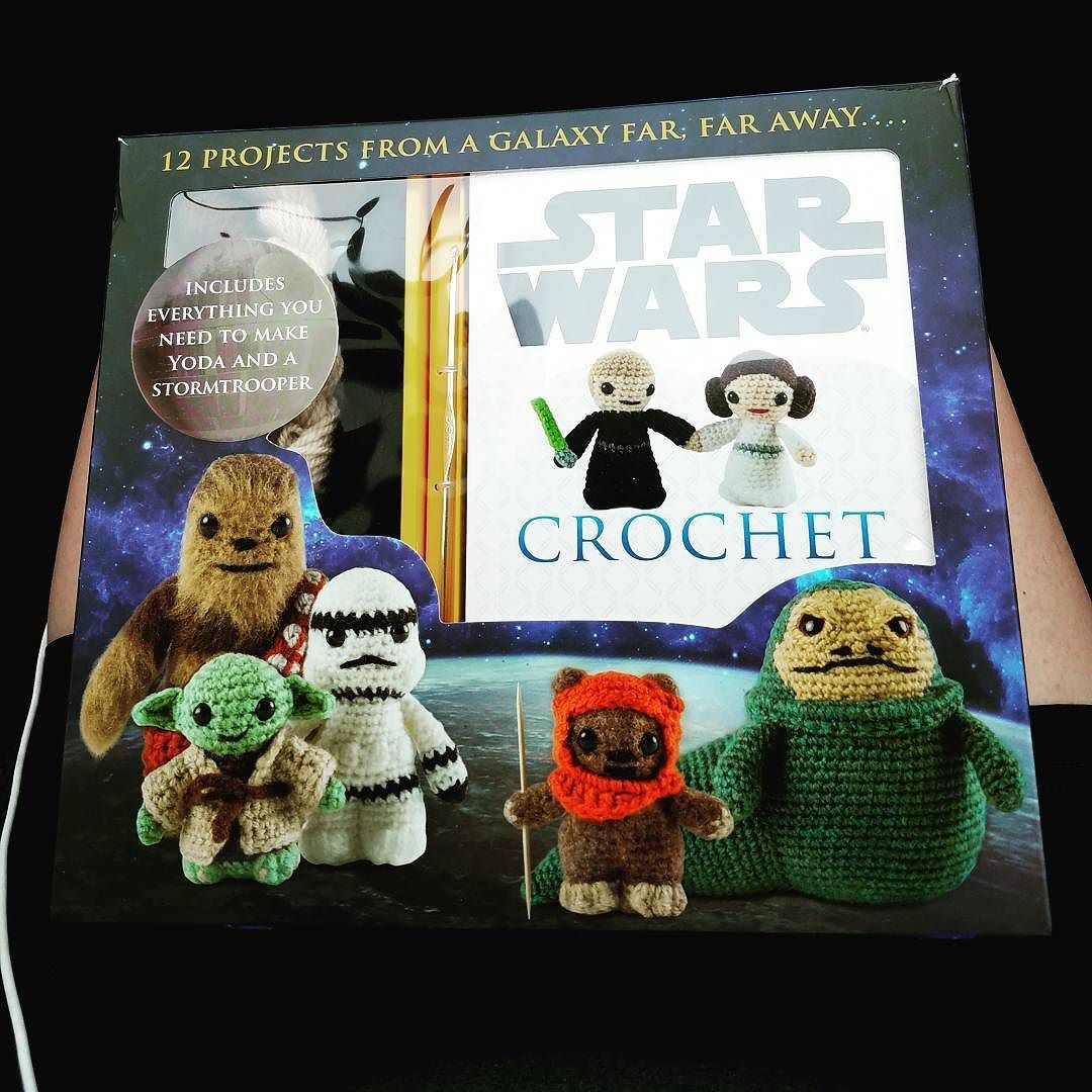 Oh. Em. Gee. #starwars #crochet