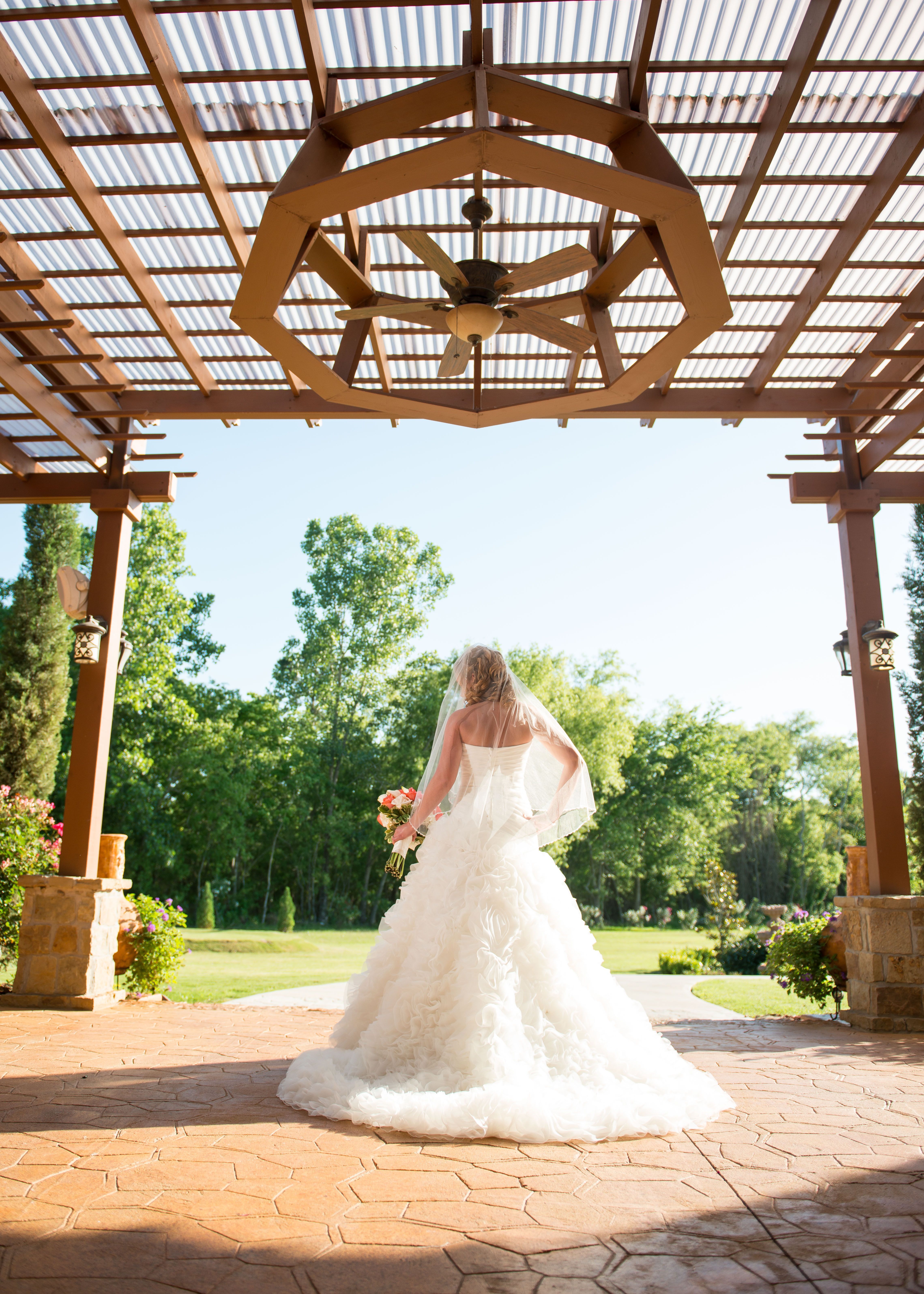 Bridal Pictures Outdoor Wedding Weddings In Houston Ceremony Clear