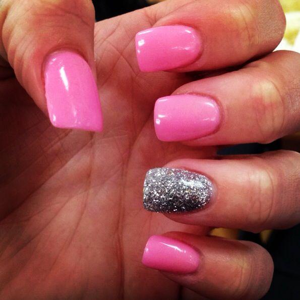 New organic powder nails! absolutely LOVE them!! ❤ | Nail ...