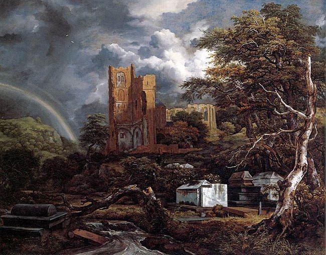 The Jewish Cemetery - Jacob van Ruisdael