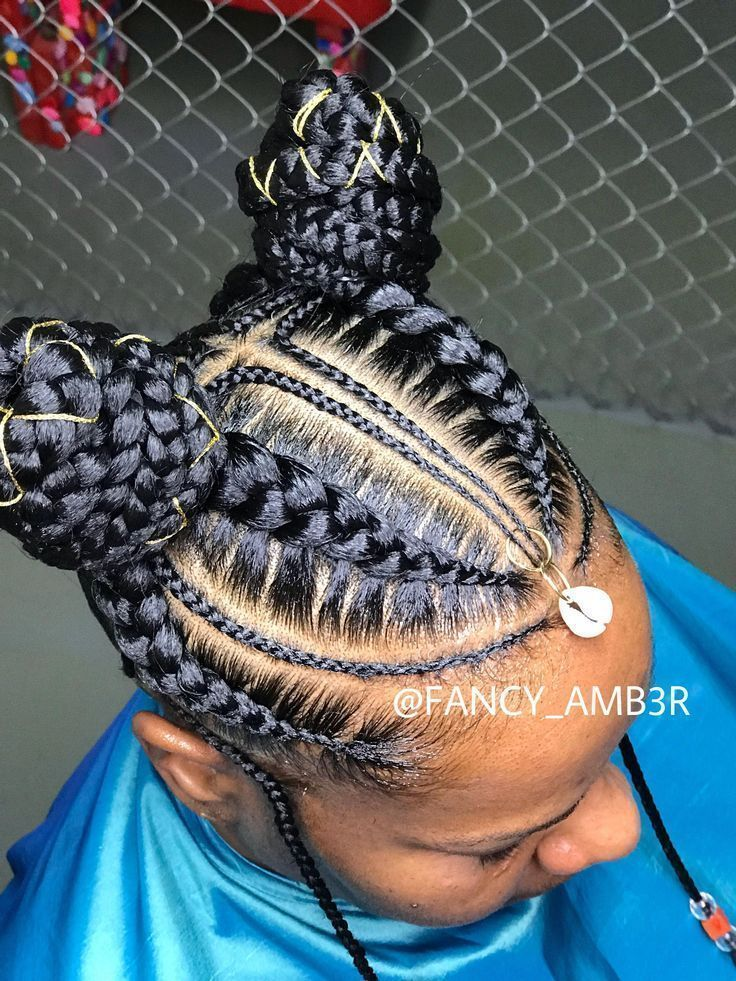 African Braids Hairstyles 652951645960384627 -  #boxbraids #individualbraids #mediumboxbraids #trian