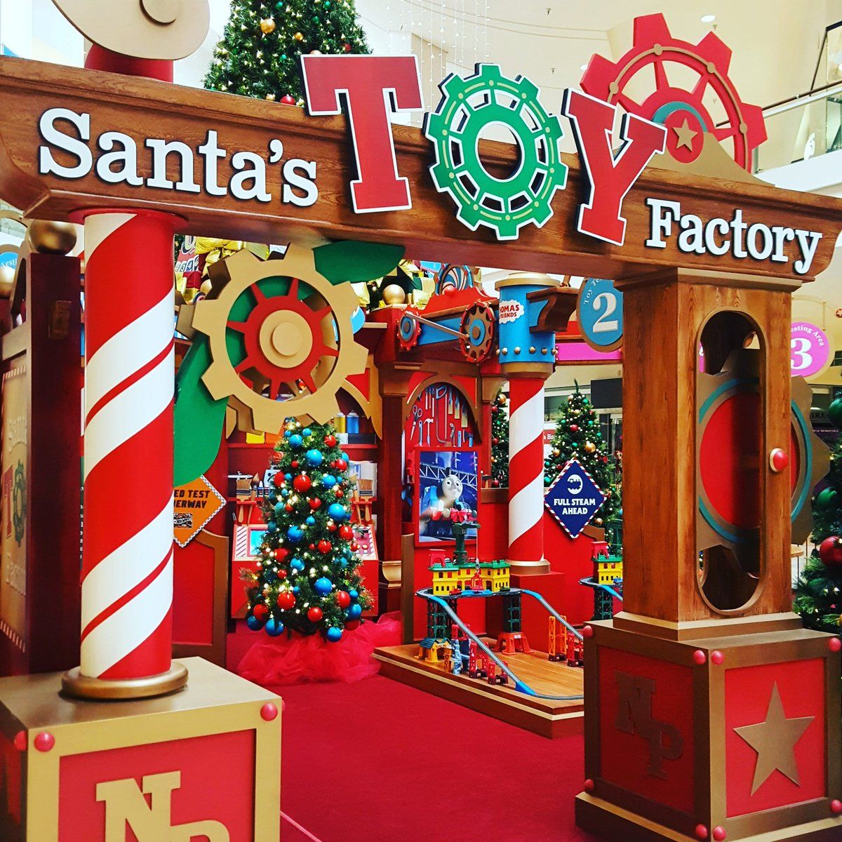 Shop Decorations For Christmas: Image Result For Santa Toys Factory
