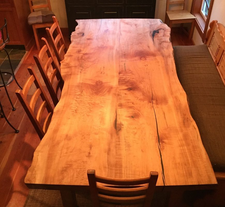 Willgoose Wood Home Home Page Figured Maple Sales Slab Tables