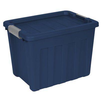 Sterilite Ultra Blue Storage Bin 18 Gal.
