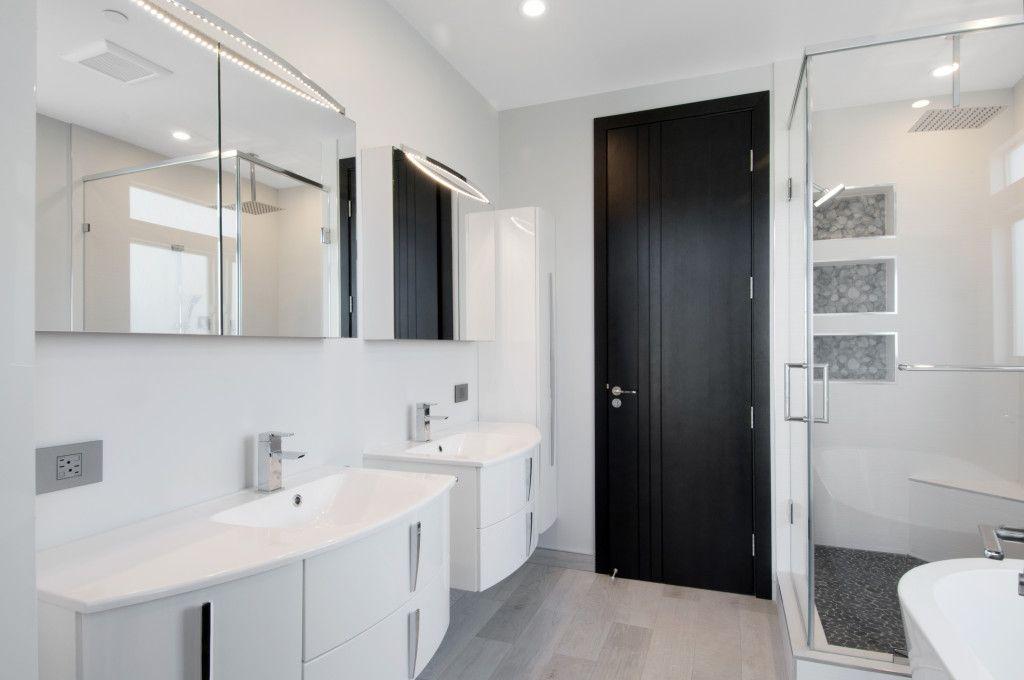 Beautiful Monochromatic Kitchen And Bathroom Design By Bauformat USA Invite  BauformatUSA