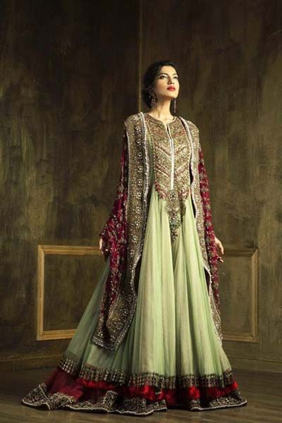 Barat Day Wedding Dresses For Asian Bridals New Collection 2015