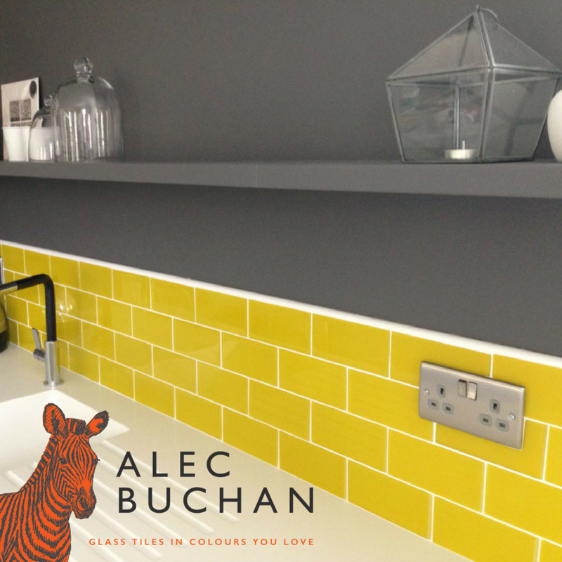 The Bright Unique Tiles You Ve Been Searching For Alec Buchan Glass Tiles In The Colours You Lo Kitchen Design Diy Diy Kitchen Backsplash Diy Kitchen Table
