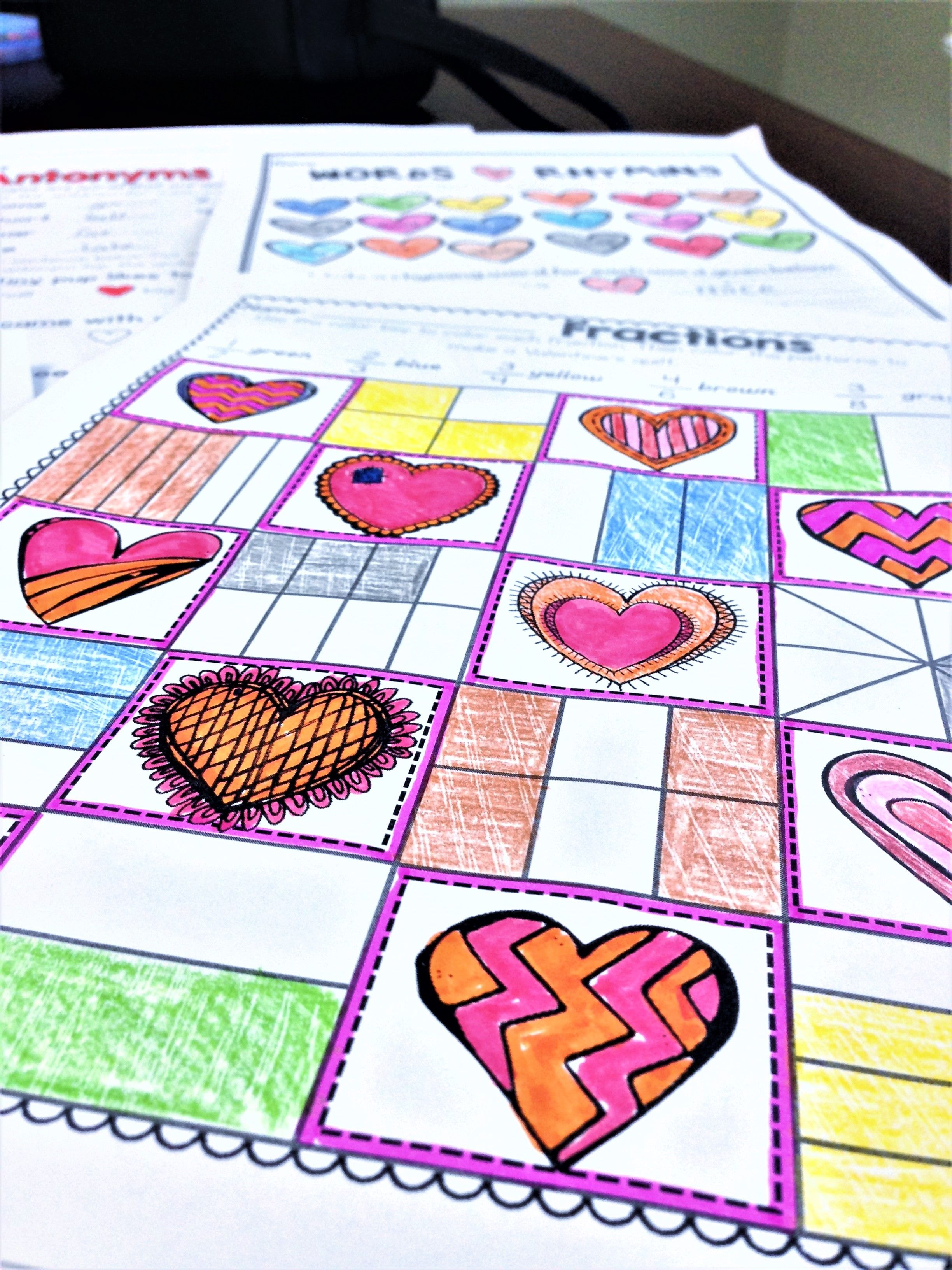 Valentine S Day Activities For First Grade