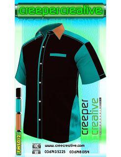 Fashionable Uniform Design Services   Corporate Shirt F1 Shirt FMS012 Men Shirt Short Sleeve Shirt