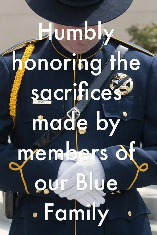 Our Brothers and Sisters in Blue Law