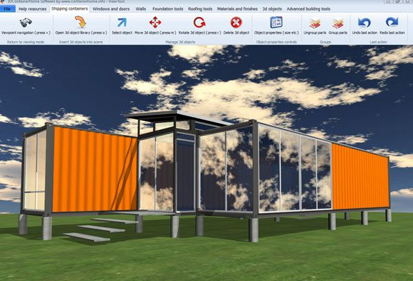 ISBU Shipping Container Home Design Software   Shipping Container Home Plans    How To Plan, Design And Build Your Own House Out Of Cargo Containers