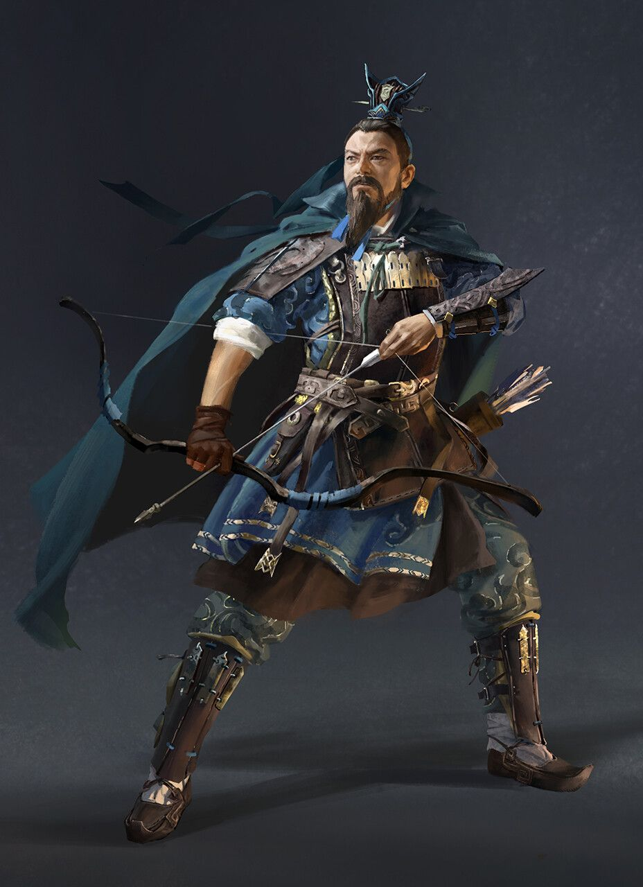 ArtStation - Total War Three Kingdoms-Character