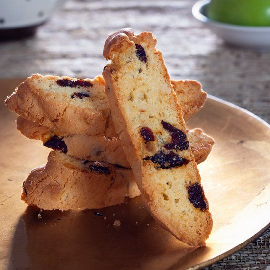 """In Latin, biscotti translates to twice-baked, """"bis"""" means """"twice"""" and """"cotto"""" means """"cooked.""""  Twice-Baked! So simple. So good."""
