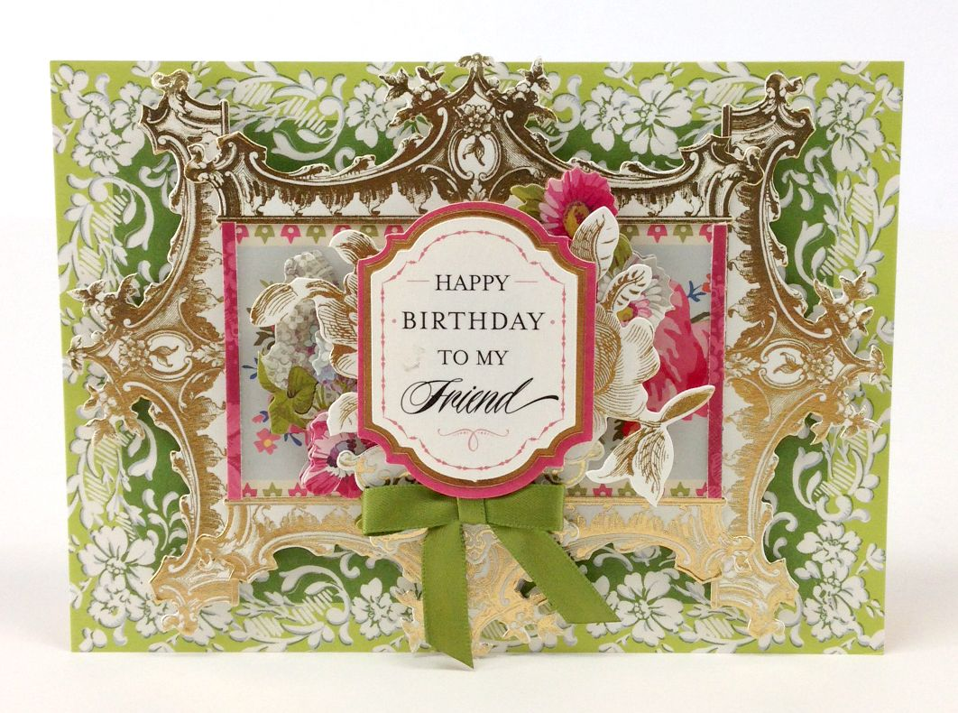 The Anna Griffin Garden Window Card Kit Includes Enough Card Surfaces,  Layers And Embellishments To Make 48 Beautiful Cards For Every Occasion.
