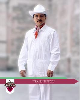 f12918c33 Los hombres de Colima suelen usar pantalón y camisa blancos, ésta de ...