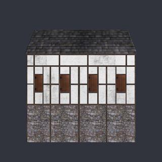 3D model MedievalHouse2.FBX - House Enxaimel - 3d model - .3ds, .obj, .fbx - 4240 vertices - 3053 polygons  See it in 3D: https://www.yobi3d.com/v/jrteYKSjtp/MedievalHouse2.FBX
