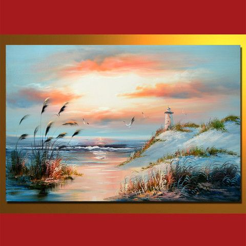SC0408002 Oil Painting On Canvas, 60 x 90 cm/24 x 36 in ...