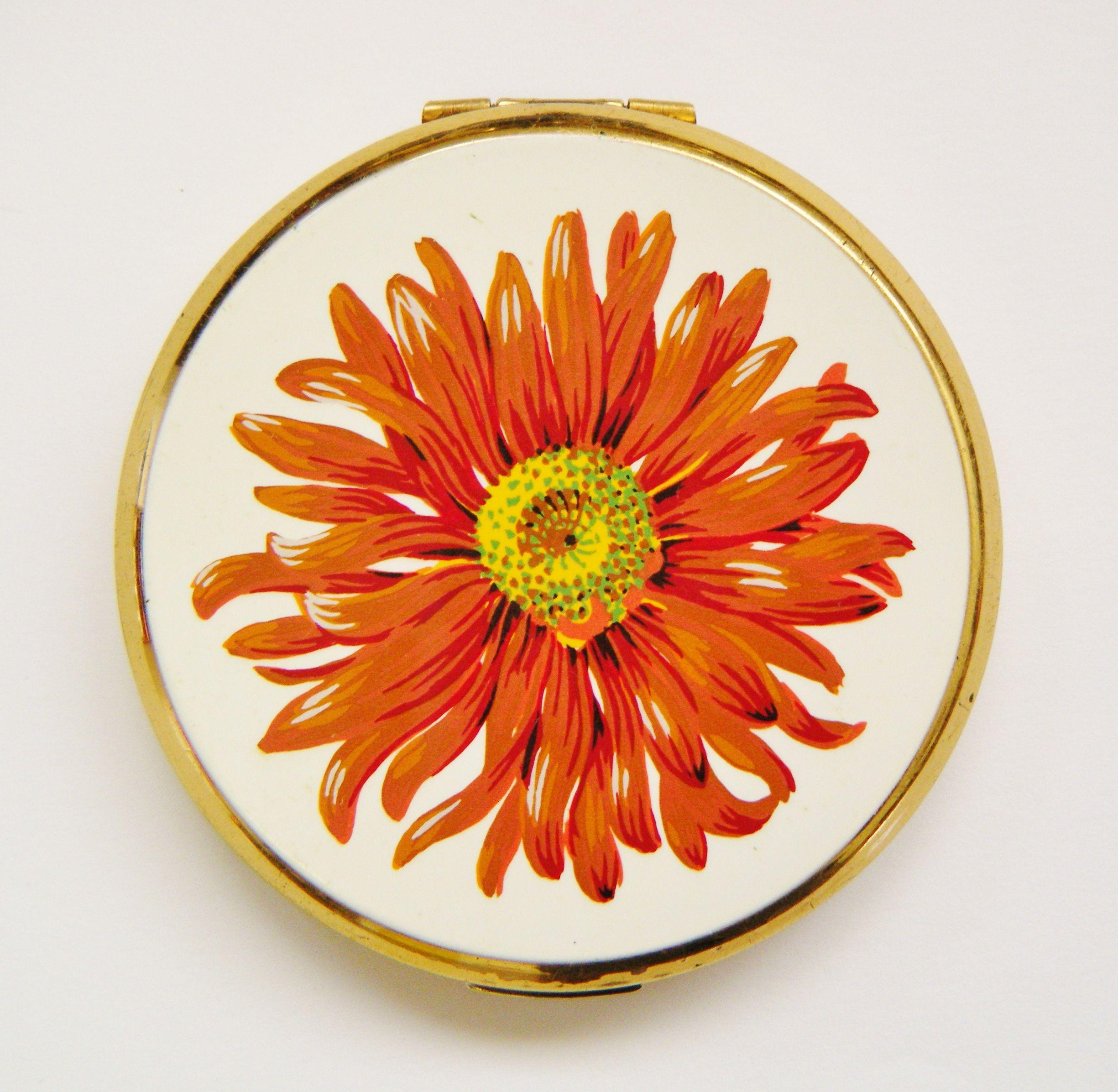 Orange Flower Stratton Compact Compact shop, Sunflower