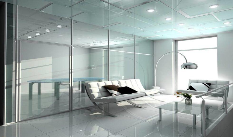 High Tech Style Living Room Design Living Room Design Styles