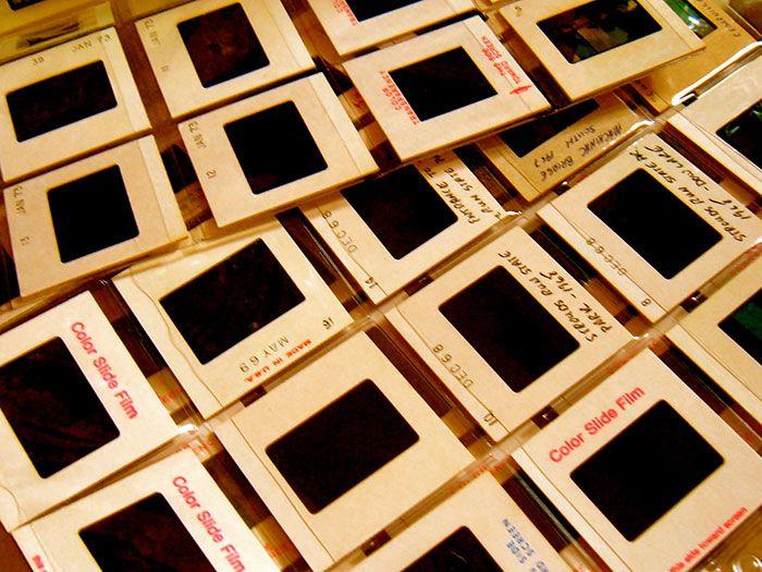 Kodachrome Slide dating guide