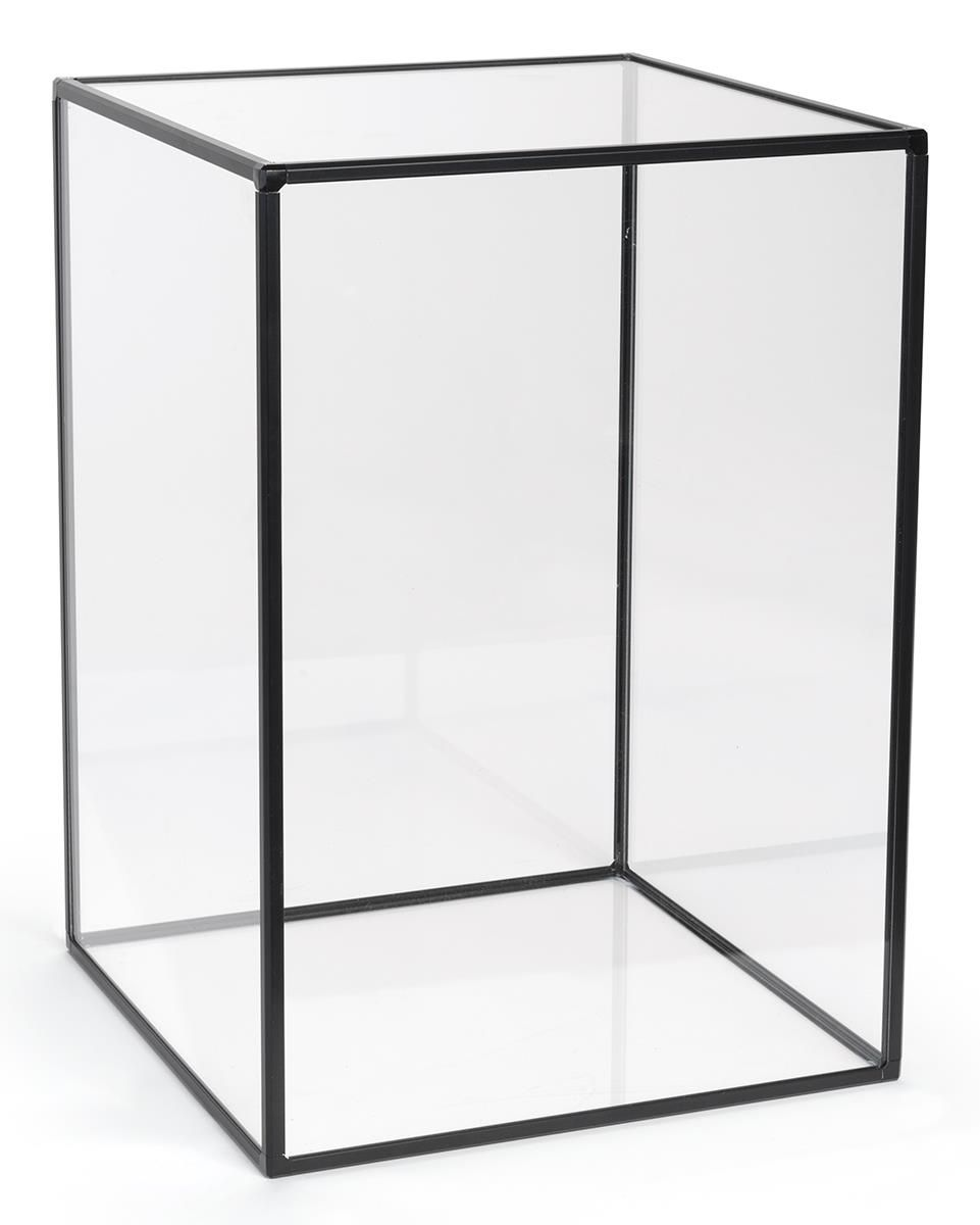 "14"" x 20"" Countertop Display Case, Acrylic with Aluminum"