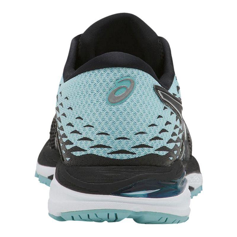 asics gel cumulus 19 women's shoes black/white/black