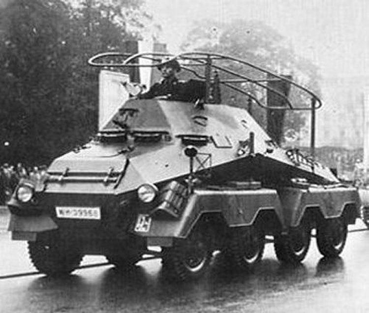 SdKfz 231 6 Rad | Sdkfz 232 8 Rad Armored Car 3d Model Sd