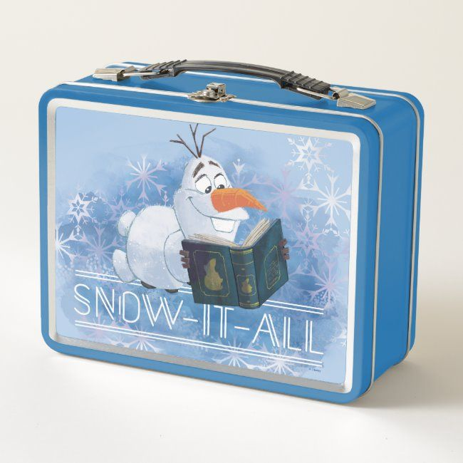 Frozen 2: Olaf  Snow-It-All Metal Lunch Box , #Sponsored, #Metal, #Lunch, #Box, #Snow, #Shop #Ad