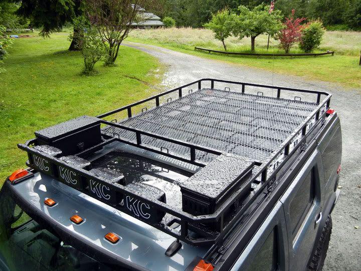 Lovely Custom H2 Roof Rack Build