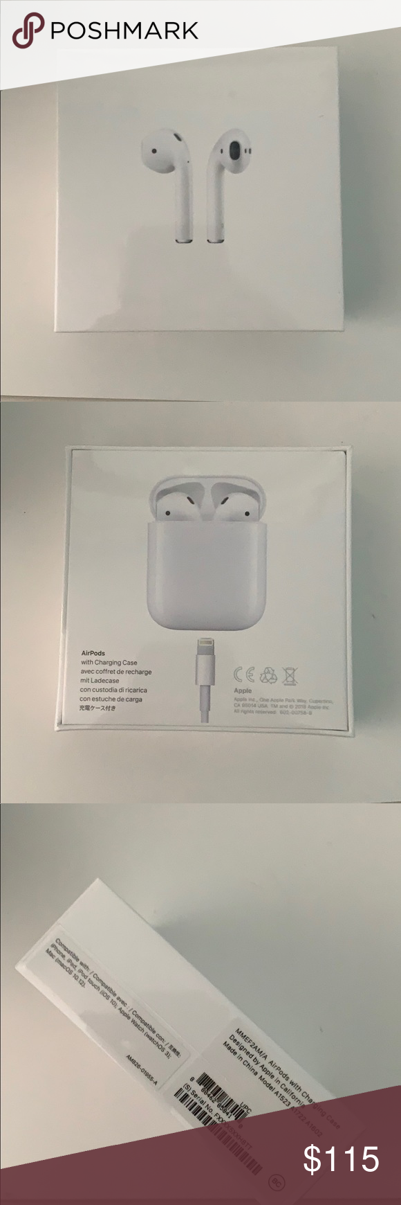 Brand New Apple Airpods Generation 1 Generation Brand New Things To Sell