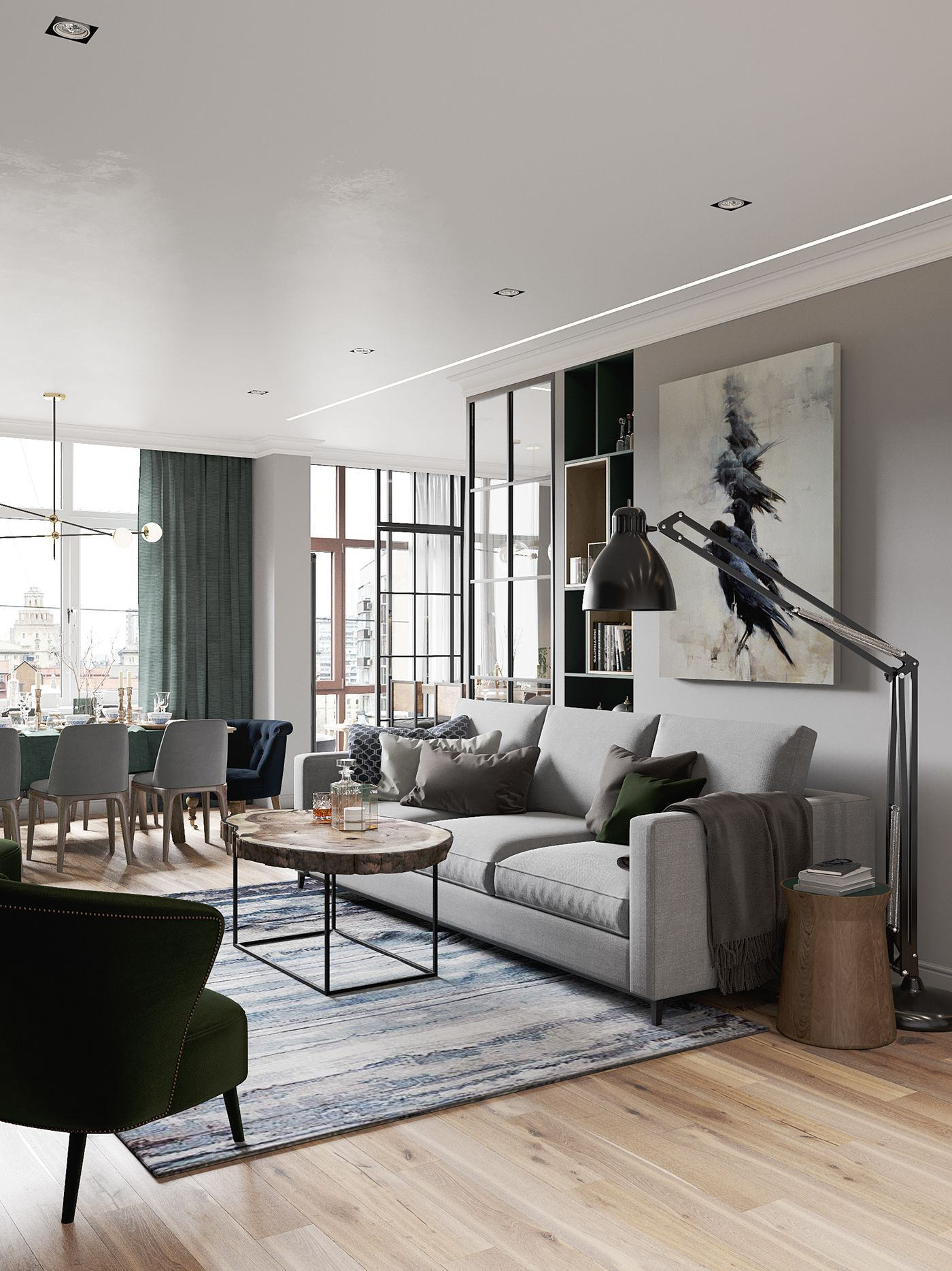 appartement sombre trendy porte entre appartement frais papier peint pour couloir sombre trendy. Black Bedroom Furniture Sets. Home Design Ideas