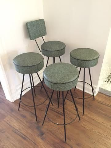 Vintage Bar Stools by ach611 on Etsy