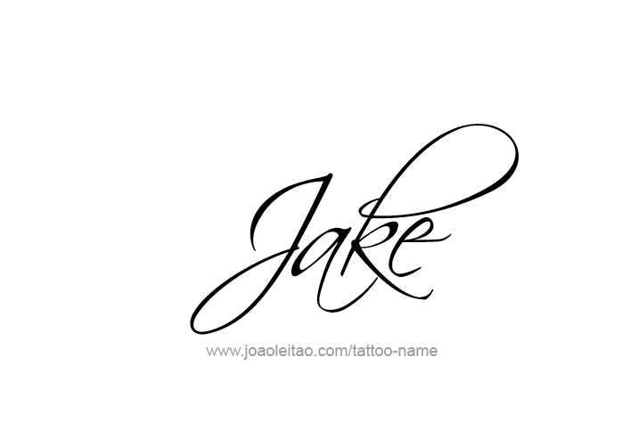 jake name tattoo designs ink pinterest tattoos name tattoos and tattoo designs. Black Bedroom Furniture Sets. Home Design Ideas