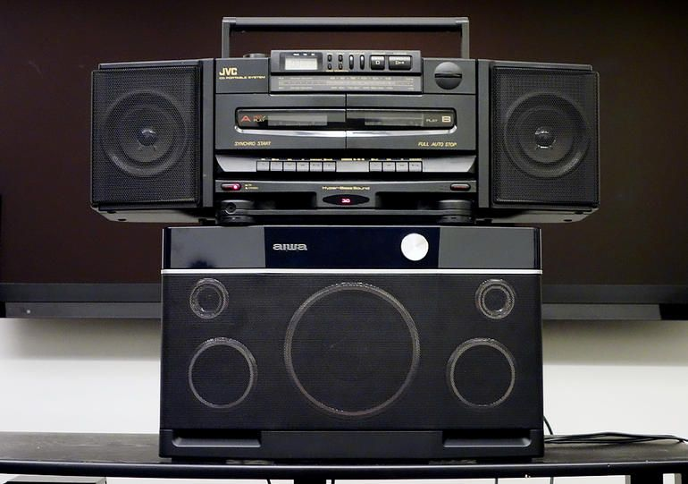 Old School Boom Box Vs Todays Wireless Speakers Which Sounds Best