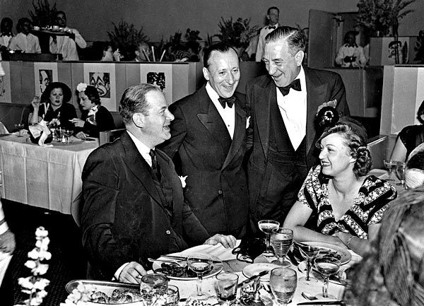 """Adolph """"Eddie"""" Brandstatter (@ Sardi's here) owned & operated Cafe Montmartre in Hollywood"""