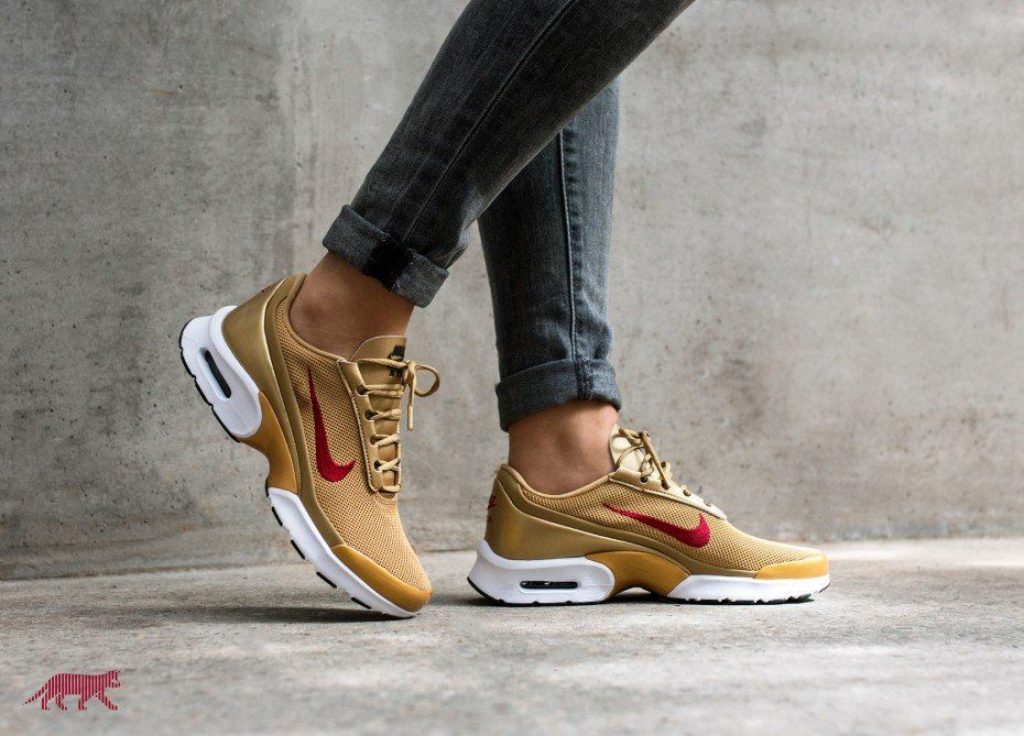 fae8d844fd07 Nike Wmns Air Max Jewell QS  AM 97 Pack  (Metallic Gold   Varsity Red -  Black - White)