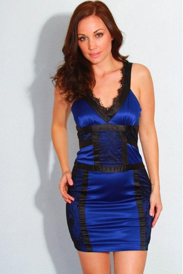 1fe6320880aa Stylized System | Sexy Club Dresses | Dresses, Satin mini dress ...