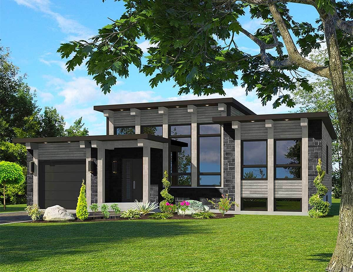very attractive lakeside home designs. Attractive Modern House Plan  90286PD Architectural Designs Plans house plans