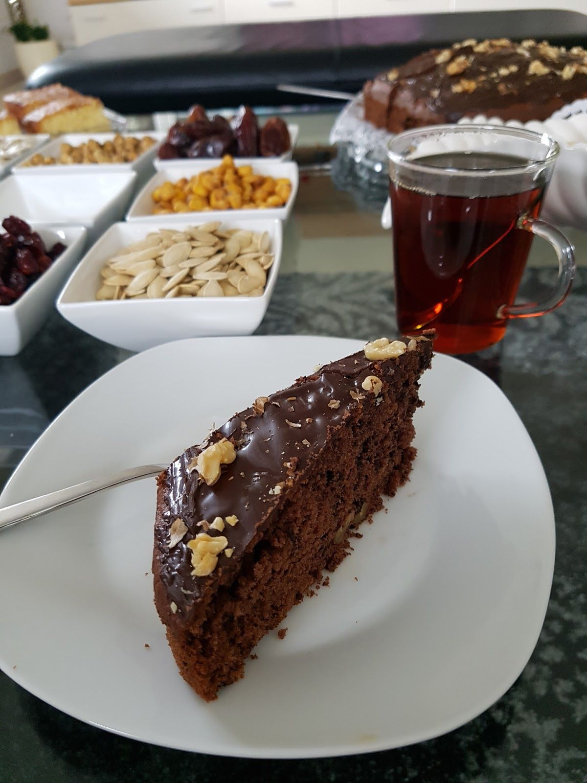 Çikolatalı Cevizli Brownie