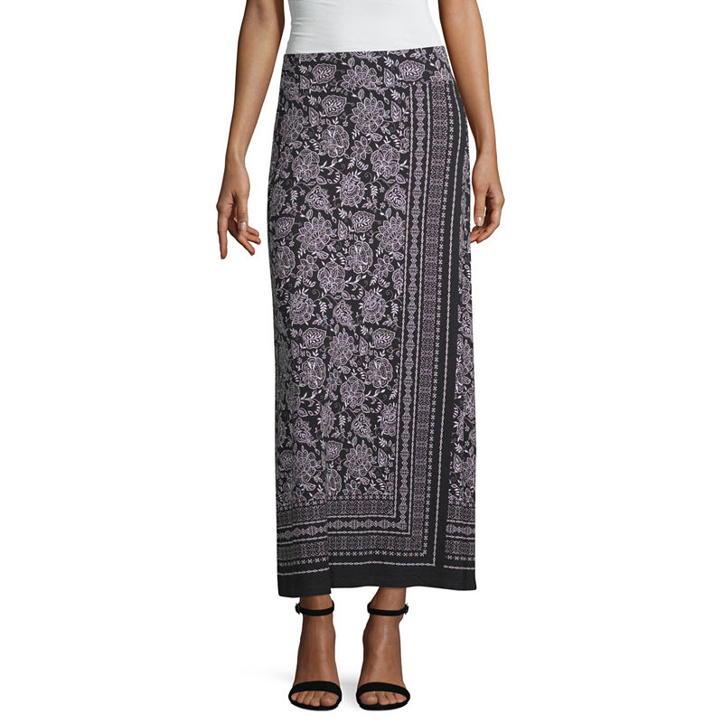 10c1c3ec6c1773 Liz Claiborne Womens Mid Rise Long Maxi Skirt in 2019 | Products ...