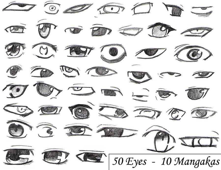 12 useful eyes drawing references and tutorials