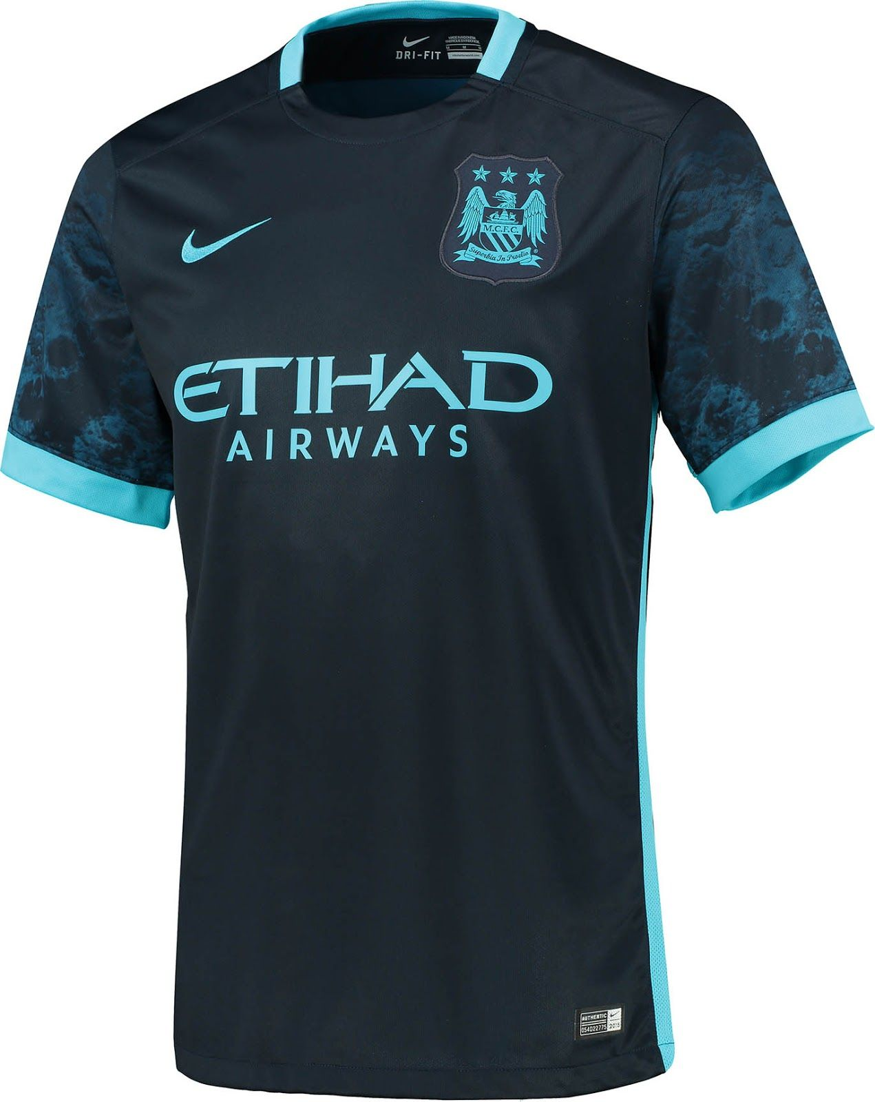 Manchester City 15-16 Away Kit Released | Manchester city, Soccer shirts,  Sweat clothes