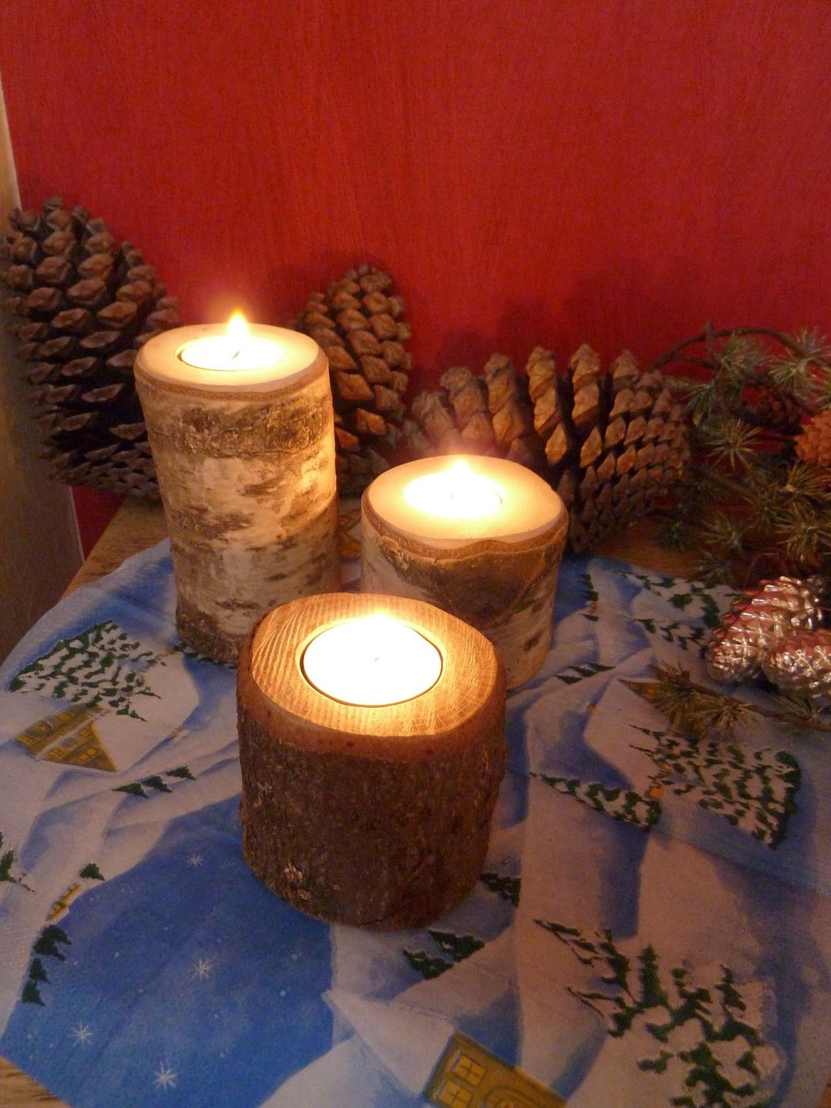IKM : Teelichter #candles #handmade #decoration