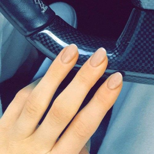 Kylie Almond Tumblr Jenner Nails